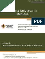 Cronograma de sesiones y exposiciones Universal II