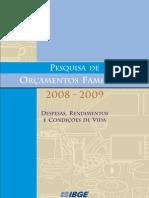 POF IBGE 2008-2009
