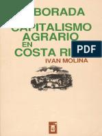 La Alborada Del Capitalismo Agrario en Costa Rica