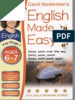 English Made Easy Ages 6 7 Carol Vorderman