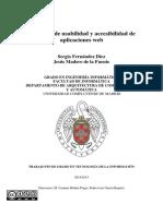 Memoria TFG - Auditoria de Usabilidad y Accesibilidad de Aplicaciones Web