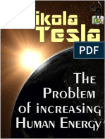 The Problem of Increasing Human Energy - Nikola Tesla