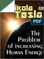 The Problem of Increasing Human Energy - Nikola Tesla