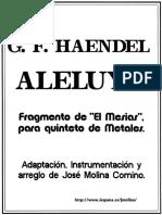 Aleluya de Haendel - Fragmento de El Mesias Para Qinteto de metales-J Molina Comino.pdf