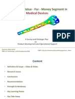 Medical Devices - Trauma Care - Blue Ocean - Developing Countries