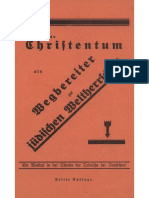 Kunzendorf, Heinz - Das Christentum als Wegbereiter zur jüdischen Weltherrschaft, Der Schicksalsweg der Deutschen; ca.1932,.pdf