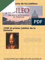 Breve Historia de Los Jubileos