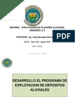 Aluviales Unidad I y II 2016