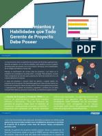 10 Conocimientos Habilidades Gerente Proyecto Debe Poseer