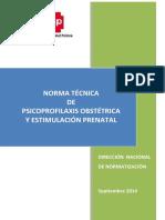 Propuesta Norma Psicoprofilaxis Obstetrica y Estimulacion Prenatal - 4