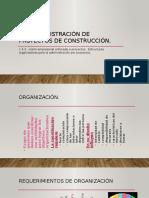 1.4 Administración de proyectos de construcción.