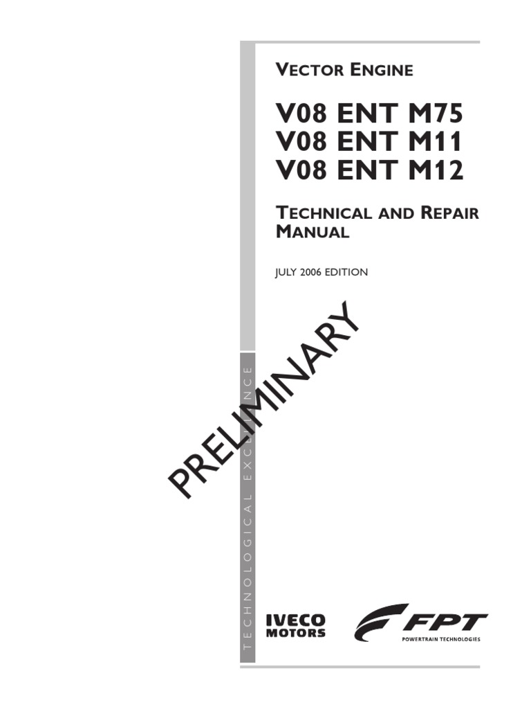 ... technical and repair manual ebook rh iveco vector 8 Array - vector 750  v08 ent m75 turbocharger internal combustion engine rh scribd ...