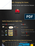 HUAWEI S12700 Agile Switch Conference Slides