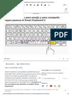 Teclas Dedicadas Para Emojis y Para Compartir_ Apple Patenta El Smart Keyboard 2