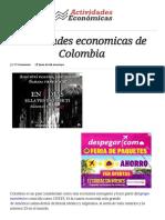 Actividaes Economicas Guia