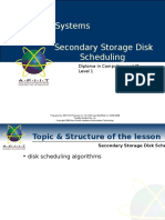 part 2 Seconday Storage Disk Scheduling Algorithms