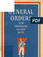 WWII 1941 Army Guard Duty Guide