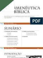 Hermeneutica 1 - Gramático Histórico - Perfieto