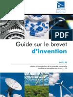 Guide Sur Les Brevets d'Invention
