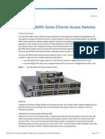 CiscoME3600x Series Datasheet