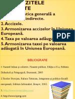 Tema 4. Impozitele Indirecte În Diferite Ţări Ale Lumii