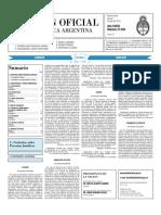 Boletin Oficial 01-07-10 - Segunda Seccion