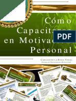 Libro (Exclente) Cómo Capacitarse en Motivacion Personal.pdf