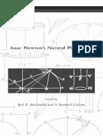 Isaac Newton Natural Philosophy