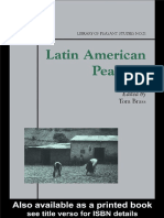 Tom Brass-Latin American Peasants (Library of Peasant Studies, No. 21) (2003)