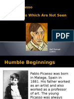 Pablo Picasso and the Things Which Are Not Seen