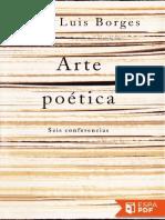 Arte Poetica - Jorge Luis Borges