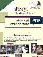 Maitreyi - metode moderne.ppt