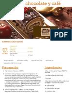 Tronco de Chocolate y Café - Nestlé Cocina