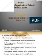Chapter 9- Group Behavior