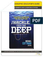 Shackles From The Deep - Educator's Guide