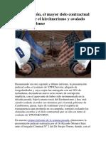 YPF_Chevrón, El Mayor Dolo Contractual Cerrado Por El Kirchnerismo y Avalado Por El Macrismo