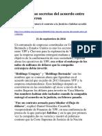 Las Cláusulas Secretas Del Acuerdo Entre YPF y Chevron