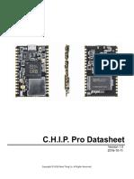 CHIP PRO Datasheet v1.0