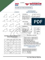 Formulario de Trigonometría-triángulos Rectángulos