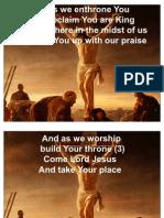 Jesus, We Enthrone You