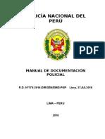 Manual de Documentacion Policial-Año 2016