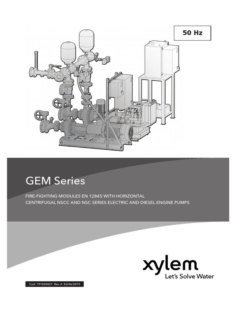 Gem Series Fire Fighting Booster Sets In Egypttechnical Catalog Engine Backing Diagram Part 1 Pump Valve