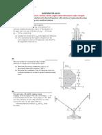 CVL320 F2015 Tutorial 8 Questions