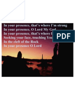In Your Presence-with Pic