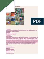 Ideias III (Diversos Brinquedos Com Materiais Recicláveis)