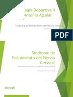 Sx Estiramiento Cervical - Traumatología Deportiva II