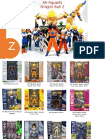 SH Figuarts Dragon Ball Z Check List