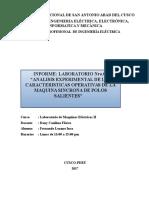 Informe Labo 6 maquinas electricas Informe Final