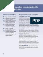 Cap 1 - El Papel de La Administración Financiera