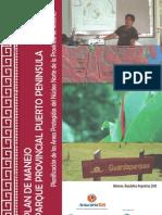 Plan de Manejo P.P. Pto. Peninsula (borrador final)